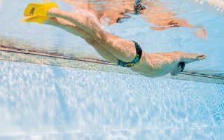 Техника плавания в ластах