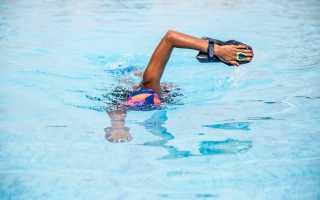 Упражнения с резинкой для плавания