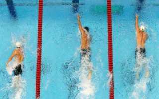 Мировой рекорд плавание 50 метров вольным стилем