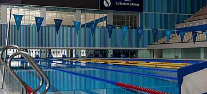 Длина дорожки в олимпийском бассейне