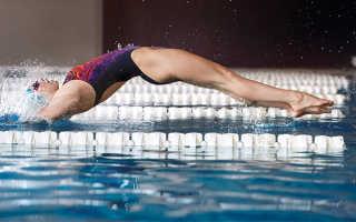 Плавать для похудения