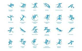 Пиктограммы олимпийских игр