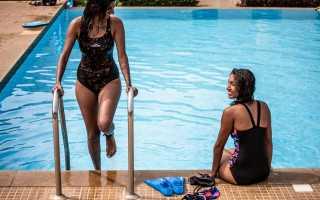 Тренировка по плаванию для похудения