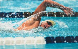 Какие мышцы работают при плавании в разных стилях