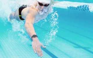 Лучшие часы для плавания в бассейне