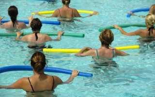 Что представляет собой водная гимнастика