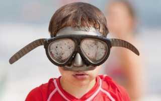 Почему потеют очки для плавания в бассейне