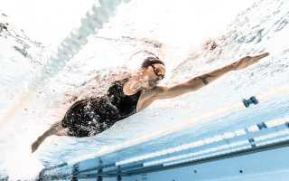 Какие мышцы работают при плавании кролем