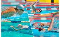 С какого способа плавания начинается комбинированная эстафета