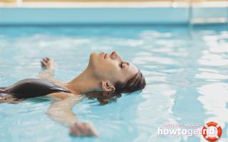 Техника плавания для похудения