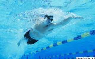 С какой скоростью плавает человек