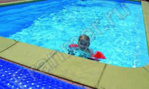 Ширина плавательной дорожки в спортивном бассейне