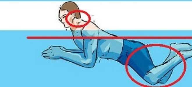 После плавания болят мышцы